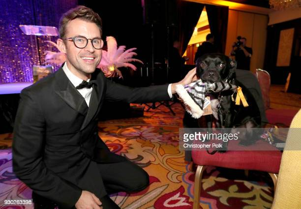 Paw Works Celebrity Ambassador Brad Goreski and Todd attend the James Paw 007 Ties Tails Gala at the Four Seasons Westlake Village on March 10 2018...