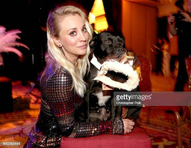 Paw Works Celebrity Ambassador/Board Member Kaley Cuoco and Todd attend the James Paw 007 Ties Tails Gala at the Four Seasons Westlake Village on...