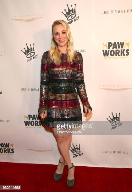 Paw Works Celebrity Ambassador/Board Member Kaley Cuoco attends the James Paw 007 Ties & Tails Gala at the Four Seasons Westlake Village on March 10,...