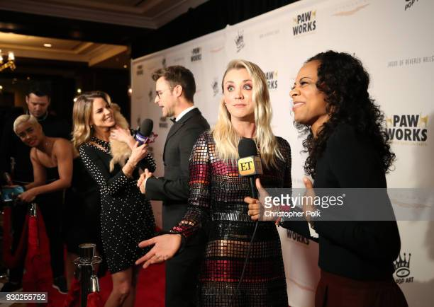 Paw Works Celebrity Ambassador/Board Member Kaley Cuoco attends the James Paw 007 Ties Tails Gala at the Four Seasons Westlake Village on March 10...