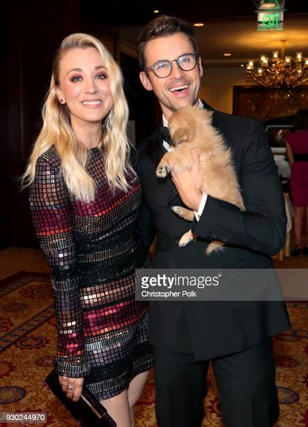 Paw Works Celebrity Ambassador/Board Member Kaley Cuoco Paw Works Celebrity Ambassador Brad Goreski and Todd attend the James Paw 007 Ties Tails Gala...