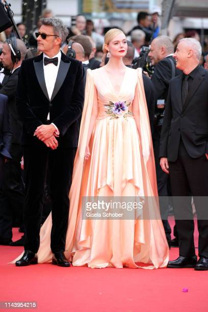 "Pawel Pawlikowski and Elle Fanning attend the opening ceremony and screening of ""The Dead Don't Die"" during the 72nd annual Cannes Film Festival on..."