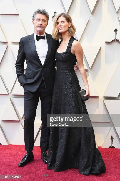 Pawel Pawlikowski and Malgosia Bela attend the 91st Annual Academy Awards at Hollywood and Highland on February 24 2019 in Hollywood California