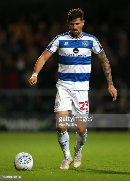 Pawel Wszolek of QPR runs with the ball during the Sky Bet Championship match between Queens Park Rangers and Aston Villa at Loftus Road on October...