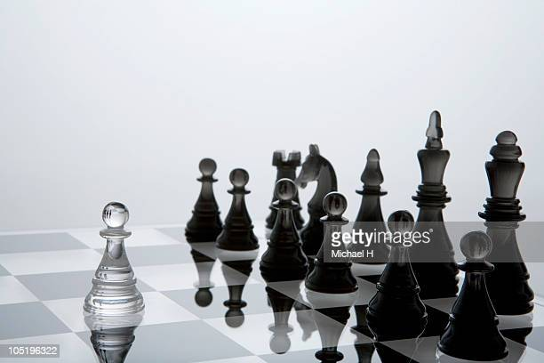 Pawn that approaches enemy