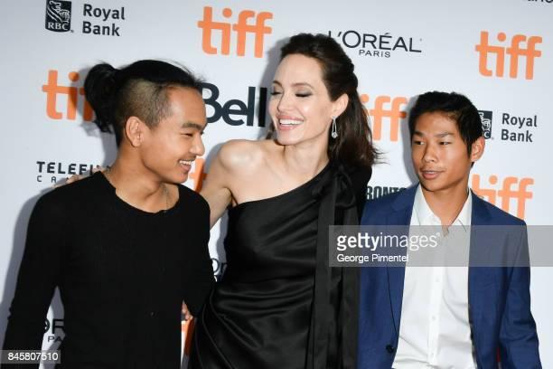 Pax JoliePitt Angelina Jolie and Maddox JoliePitt attend 2017 Toronto International Film Festival 'First They Killed My Father' Premiere at Princess...