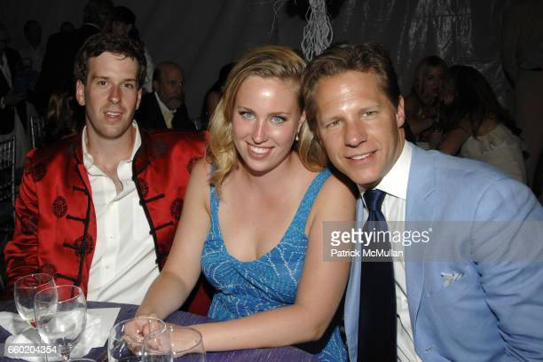 Paxton Flesher Whitney Flesher and Brad Comisar attend PARRISH ART MUSEUM Midsummer Party Honoring DOROTHY LICHTENSTEIN at Parrish Art Museum on July...