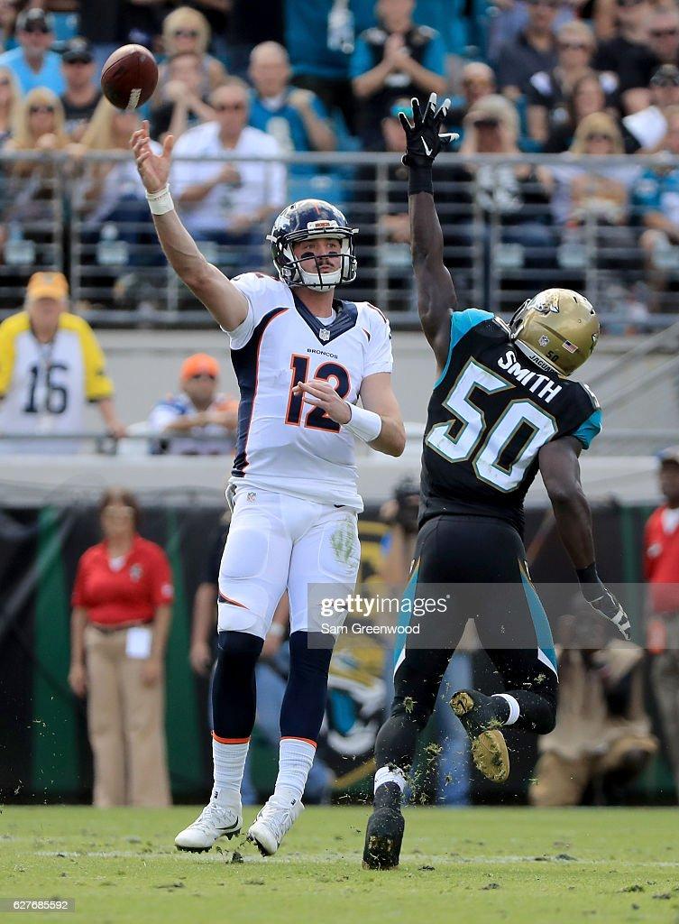Denver Broncos v Jacksonville Jaguars : News Photo
