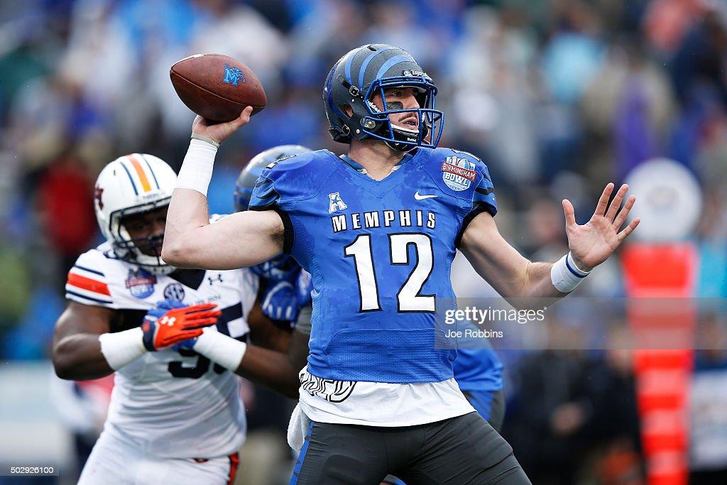 Birmingham Bowl - Auburn v Memphis