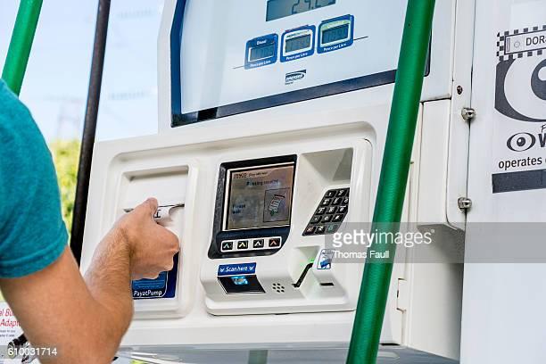 Pay at Pump at Petrol Station