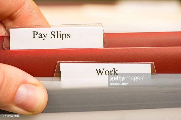 Pay Slips and work