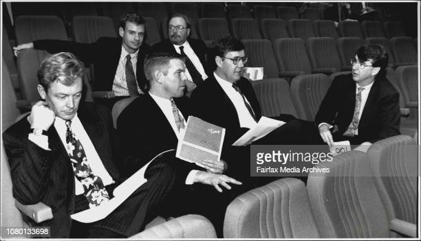 Auction for six pay tv licences held in the Wesley Theatre CityMPT People Ben Kilberly Sean O'Halloran Nick Falloon James Maclachlan Richard...