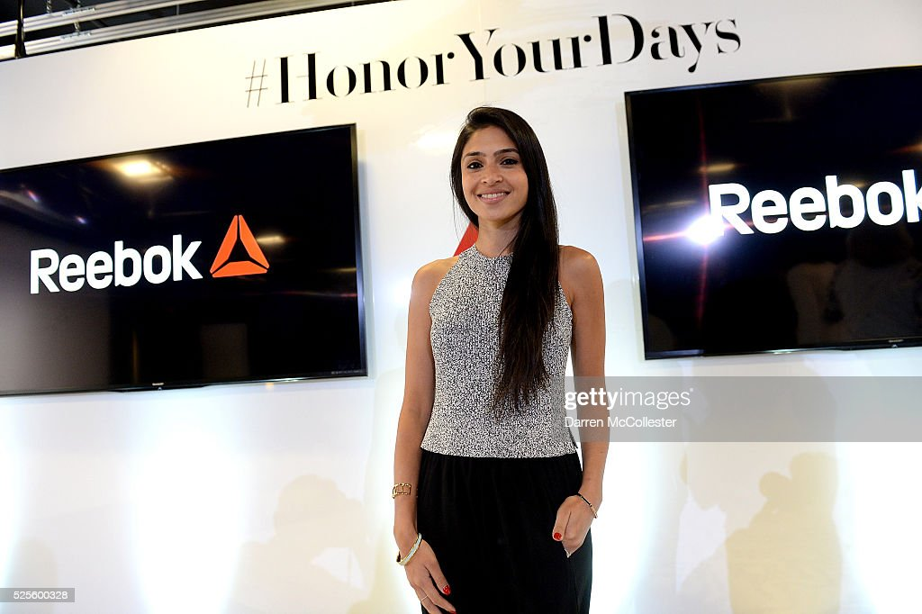 Payal Kadakia attends REEBOK #HonorYourDays Luncheon at Reebok Headquarters on April 28, 2016 in Canton, Massachusetts.