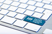 PPP Paycheck Protection Program concept