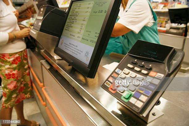 paying at store - convenience store stock photos and pictures