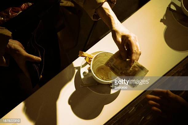 Zahlung Kaffee