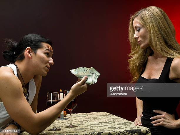 paying for love - gigolo stock photos and pictures