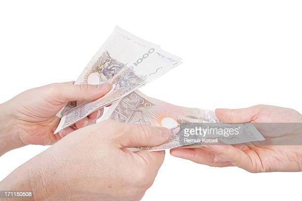 お支払い - スウェーデン通貨 ストックフォトと画像