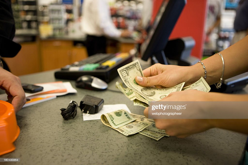 Paying : Stock Photo