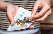 Paying with British currency