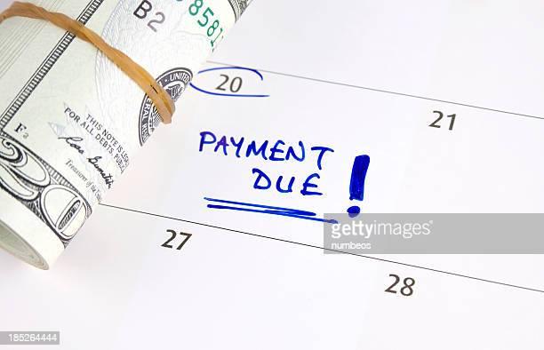 Zahlung fällig
