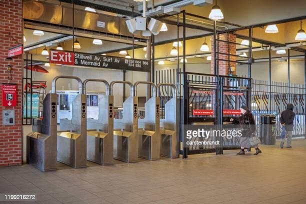 betaling sluis - metrostation stockfoto's en -beelden