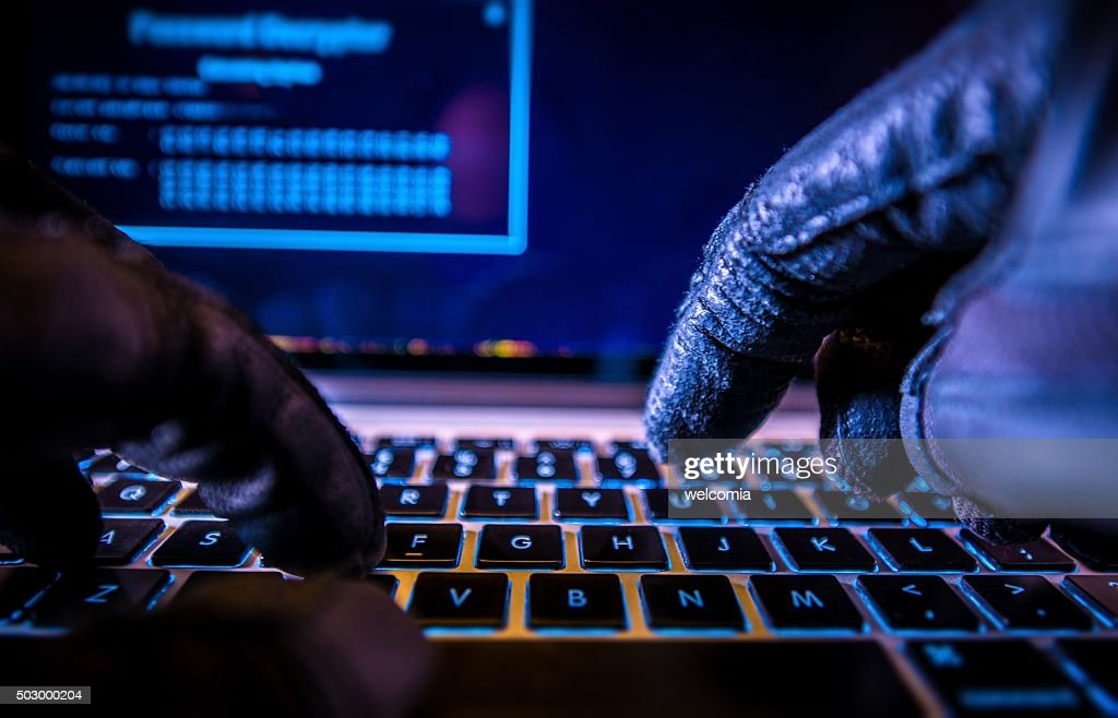 Payments System Hacking : Stock Photo