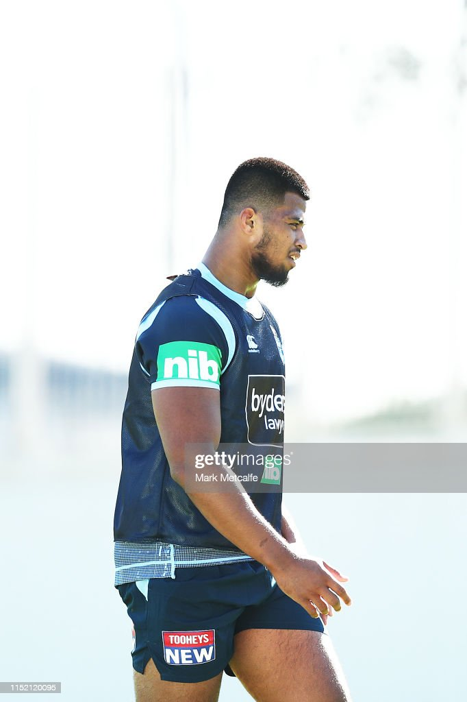 Payne Haas Looks On During A New South Wales Blues State Of Origin News Photo Getty Images