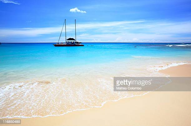 paynes beach, barbados - barbados stock pictures, royalty-free photos & images