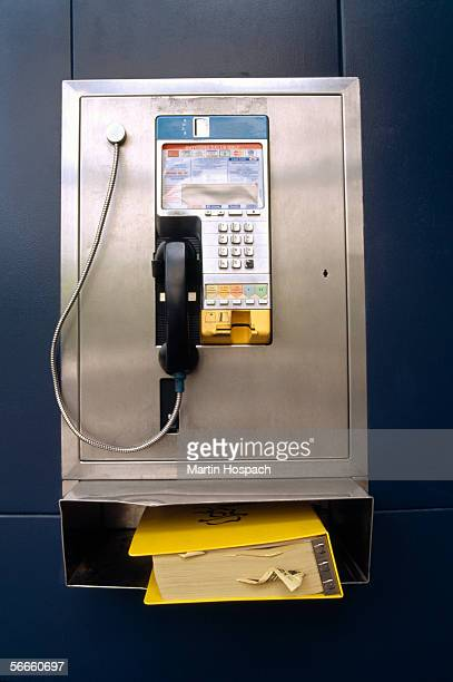A payphone