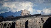 Paysage de montagnes dans les Dolomites