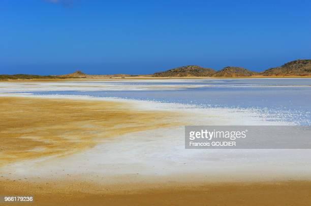 Paysage désertique près de Punta Gallinas dans la région de la Guajira 21 mars 2015 Colombie