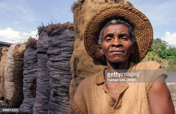 Paysan malgache avril 1992 Madagascar