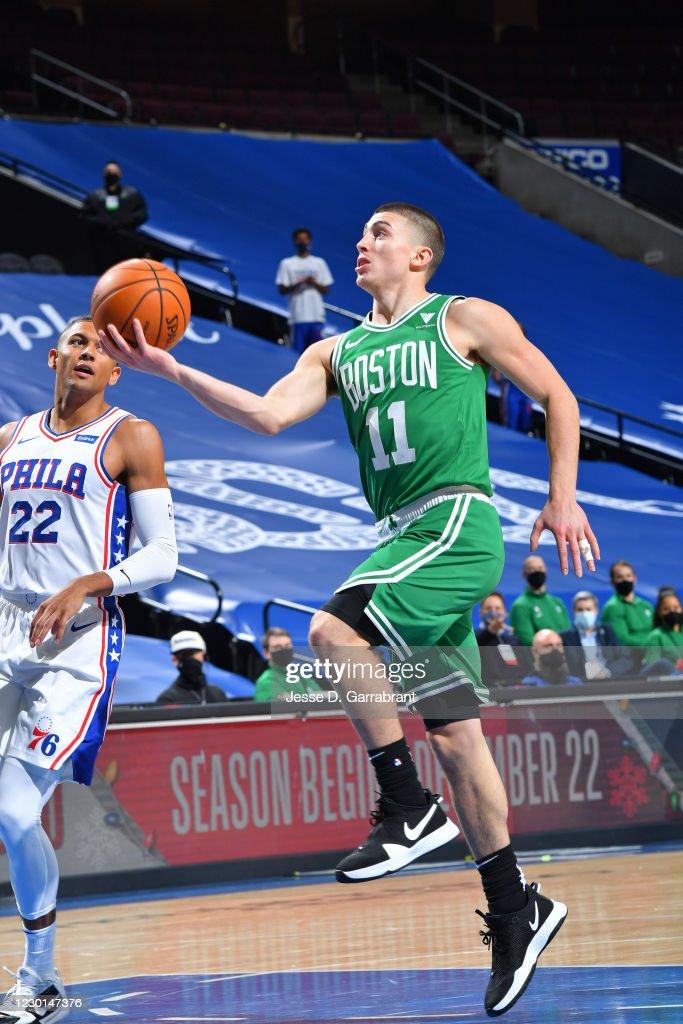 Boston Celtics v Philadelphia 76ers : News Photo