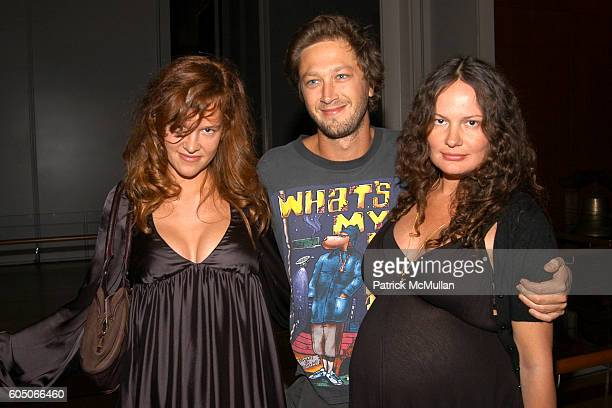 Paz de la Huerta Ebon MossBachrach and Yelena Yemchuk attend HERMES and TURNER CLASSIC MOVIES to Host Celebration to Salute Cinematic Shorts at The...