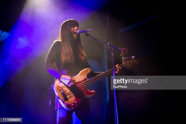 Paz Lenchantin of the american alternative rock band Pixies performing live at OGR Turin Italy