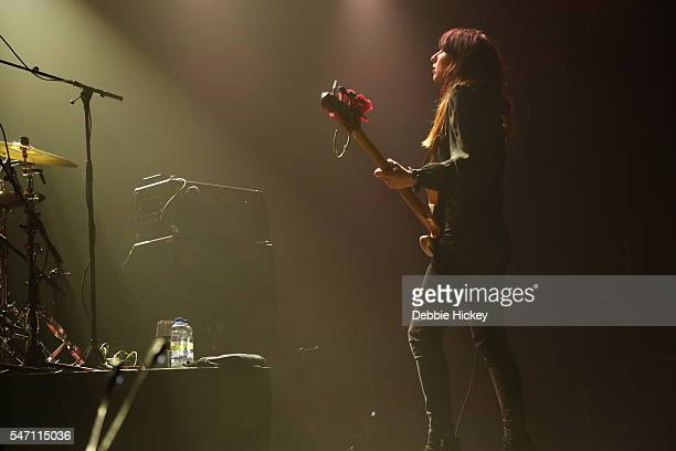 Paz Lenchantin of The Pixies performs at The Marquee on July 13 2016 in Cork Ireland