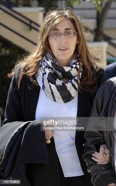 Paz Padilla attends the funeral for his wife Pepita Garcia who died on March 3 at Malaga graveyard on March 4 2012 in Malaga Spain