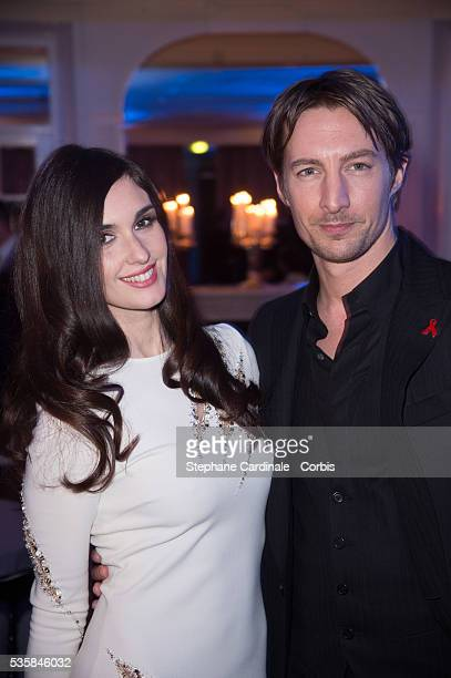 Paz Vega and Benn Northover attend the Sidaction Gala Dinner 2013 at Pavillon d'Armenonville in Paris