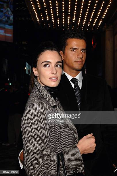 Paz Vega and husband Orson Salazar during 31st Annual Toronto International Film Festival El Cantante Premiere Red Carpet at Visa Screening Room in...