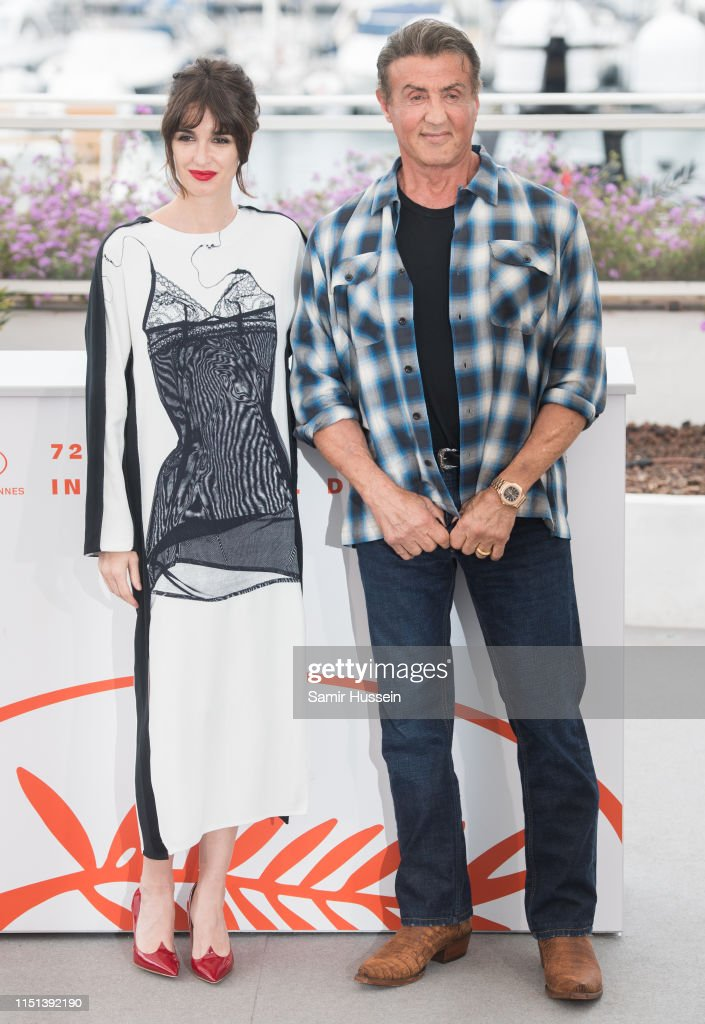 Rendez-vous With Sylvester Stallone & Rambo V: Last Blood - The 72nd Annual Cannes Film Festival : News Photo