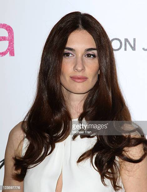 Paz Vega arrives at the 19th Annual Elton John AIDS Foundation Academy Awards viewing party held at Pacific Design Center on February 27, 2011 in...
