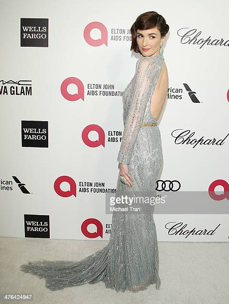 Paz Vega arrives at the 22nd Annual Elton John AIDS Foundation's Oscar viewing party held on March 2 2014 in West Hollywood California