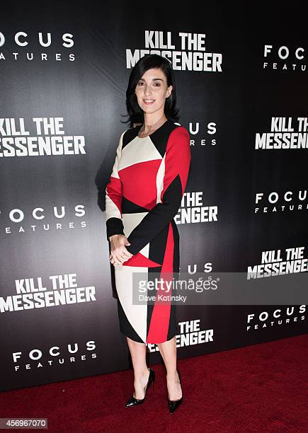 Paz Vega arrives at the 'Kill The Messenger' New York Screening at Museum of Modern Art on October 9 2014 in New York City