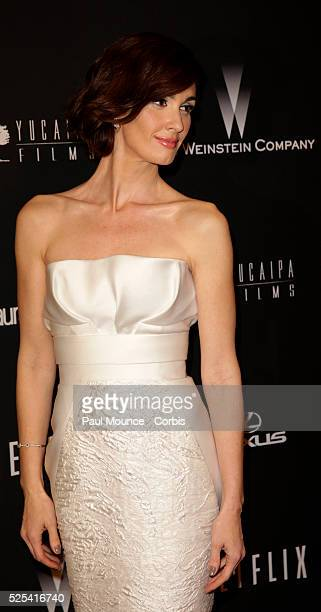 Paz Vega arrives at the Weinstein Company Golden Globes AfterParty