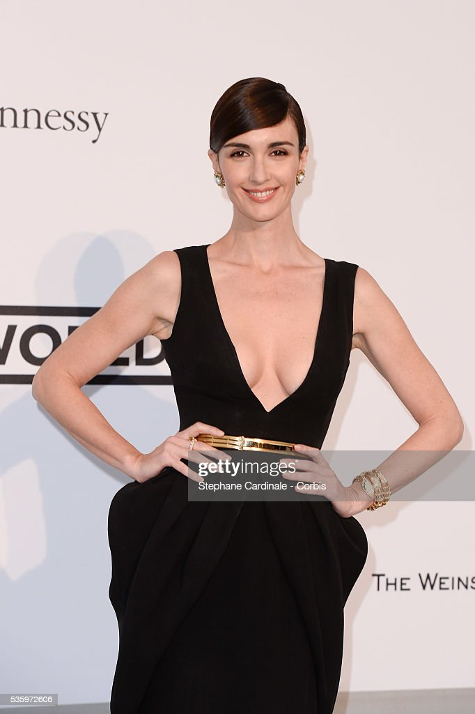 Paz Vega at the amfAR's 21st Cinema Against AIDS Gala at Hotel du Cap-Eden-Roc during the 67th Cannes Film Festival