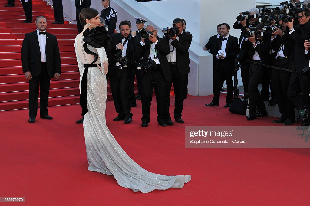 Paz Vega at the Closing ceremony and 'A Fistful of Dollars' screening during 67th Cannes Film Festival