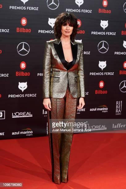 Paz Vega attend during Feroz awards red carpet on January 19 2019 in Bilbao Spain