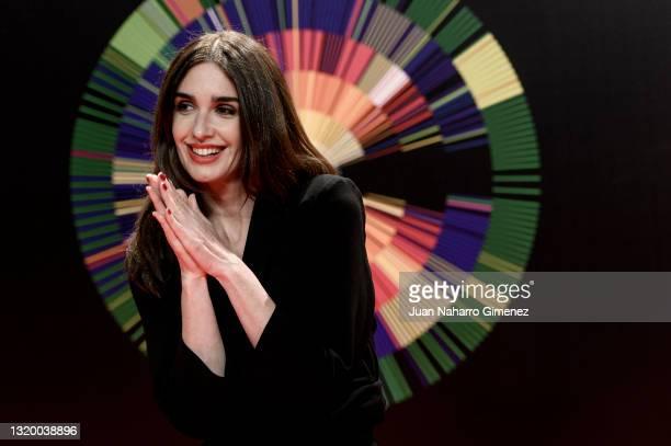 Paz Vega attends '24th Malaga Film Festival' photocall at Circulo de Bellas Artes on May 25, 2021 in Madrid, Spain.