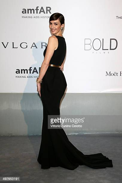 Paz Vega attends amfAR's 21st Cinema Against AIDS Gala Presented By WORLDVIEW BOLD FILMS And BVLGARI at Hotel du CapEdenRoc on May 22 2014 in Cap...